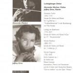 Ludwigsburg Festival, debut